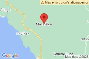Map of Macalelon, Macalelon Quezon