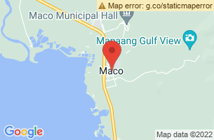 Map of Maco, Maco Compostela Valley