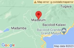 Map of Madalum, Madalum Lanao del Sur