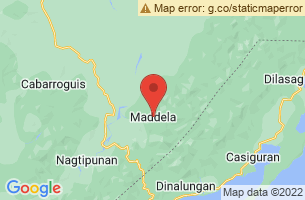 Map of Governors Rapids, Maddela Quirino