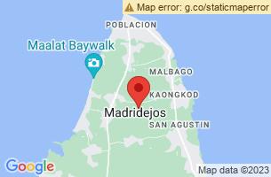 Map of Madridejos, Madridejos Cebu