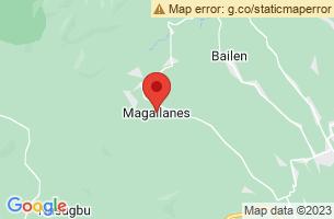 Map of Magallanes, Magallanes Agusan del Norte