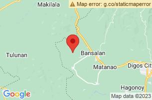 Map of Magsaysay, Magsaysay Davao del Sur