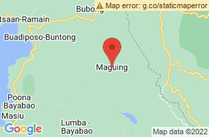 Map of Maguing, Maguing Lanao del Sur