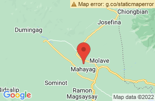 Map of Mahayag Spring, Mahayag Zamboanga del Sur