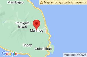 Map of Mahinog, Mahinog Camiguin