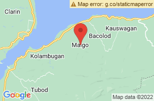 Map of Maigo, Maigo Lanao del Norte