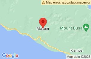 Map of Maitum Turtle Sanctuary, Maitum Sarangani
