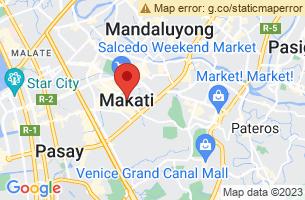 Map of Makati, Makati Manila