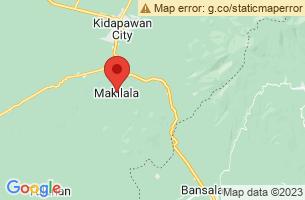 Map of Makilala, Makilala Cotabato