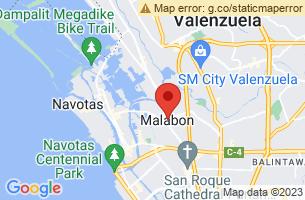 Map of Malabon, Malabon Manila