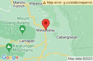 Map of Malaybalay City, Malaybalay City Bukidnon