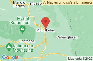 Map of Mt Dulang Dulang, Malaybalay City Bukidnon