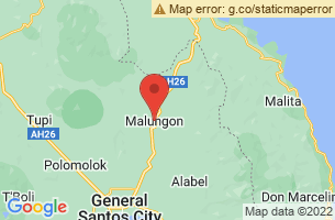 Map of Malungon, Malungon Sarangani