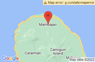 Map of Mambajao, Mambajao Camiguin