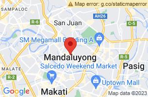 Map of Mandaluyong, Mandaluyong Manila