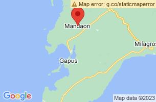 Map of Mandaon, Mandaon Masbate