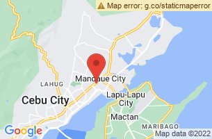 Map of Mandaue City, Mandaue City Cebu