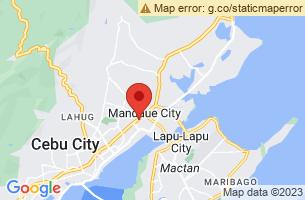 Map of Butuanon River, Mandaue City Cebu