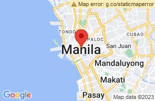 Map of Manila,