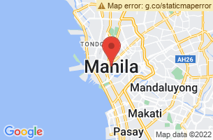 Map of Pasig River Light, Manila Manila