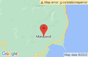 Map of Manjuyod White Sandbar, Manjuyod Negros Oriental