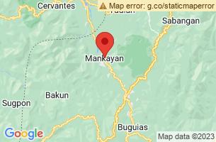Map of Mankayan, Mankayan Benguet