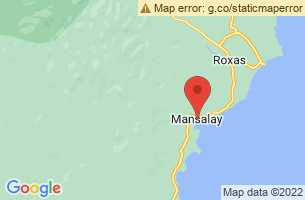 Map of Casabangan Beach Sanctuary, Mansalay Oriental Mindoro