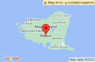 Map of Tawi Tawi Island, Mapun Tawi-Tawi