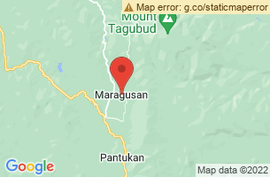 Map of Marangig Falls, Maragusan Compostela Valley