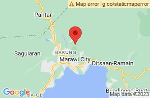 Map of Marawi City, Marawi City Lanao del Sur
