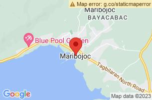 Map of Maribojoc, Maribojoc Bohol