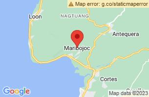 Map of Maribojoc Organic Demo Farm, Maribojoc Bohol