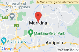 Map of Marikina, Marikina Manila