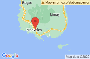 Map of Tarak Ridge, Mariveles Bataan
