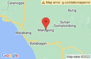 Map of Marogong, Marogong Lanao del Sur