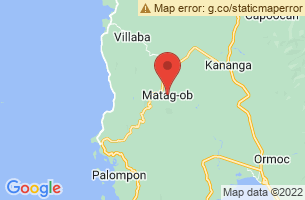 Map of Matag-ob, Matag-ob Leyte