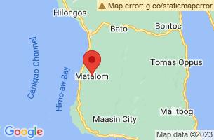 Map of Matalom, Matalom Leyte
