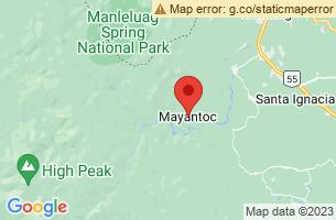 Map of Camiling Nambalan River, Mayantoc Tarlac