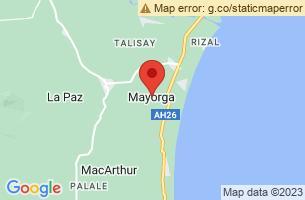 Map of Mayorga, Mayorga Leyte