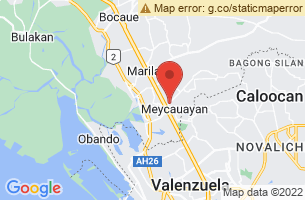 Map of Meycauayan City, Meycauayan City Bulacan