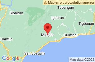 Map of Miagao, Miagao Iloilo