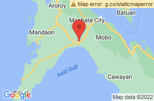 Map of Milagros, Milagros Masbate