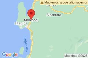 Map of Moalboal, Moalboal Cebu