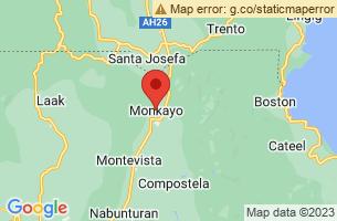 Map of Monkayo, Monkayo Compostela Valley