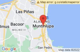 Map of Muntinlupa, Muntinlupa Manila