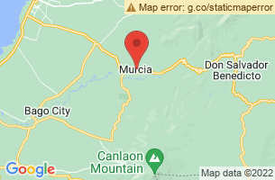 Map of Mudpack Festival, Murcia Negros Occidental