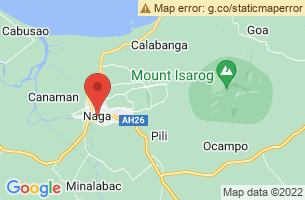 Map of Naga City, Naga City Cebu