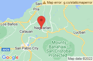 Map of Nagcarlan, Nagcarlan Laguna
