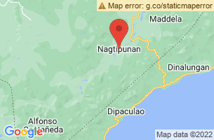 Map of Nagtipunan, Nagtipunan Quirino